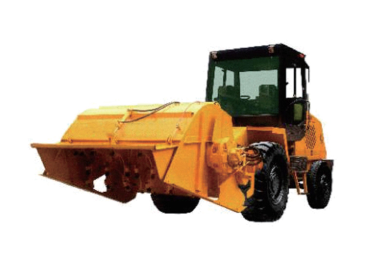 Construction machinery industry - stabilized soil mixer