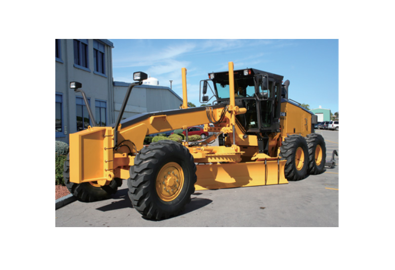 Construction machinery industry - grader